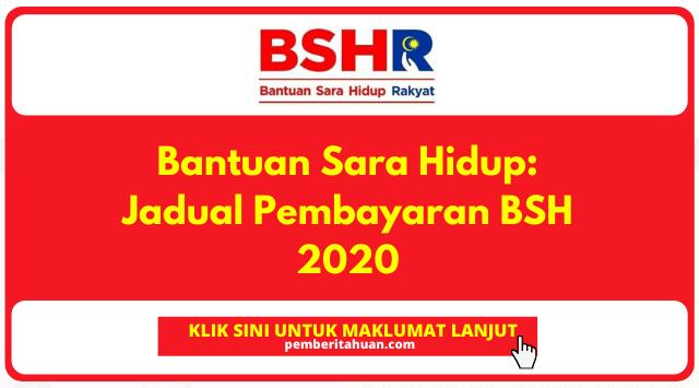 Jadual Bayaran BSH fasa 3
